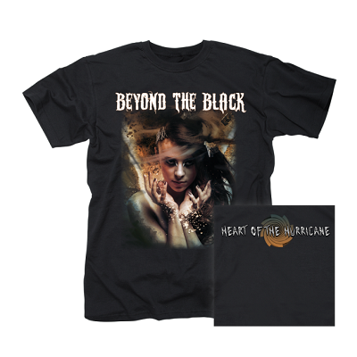 BEYOND THE BLACK-Heart Of The Hurricane/T-Shirt