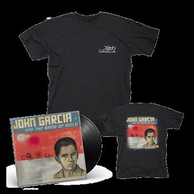 JOHN GARCIA-John Garcia And The Band Of Gold/Limited Edition BLACK Vinyl LP + T-Shirt Bundle