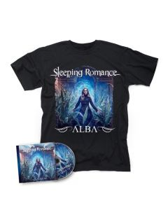 SLEEPING ROMANCE-Alba/CD + T-Shirt Bundle