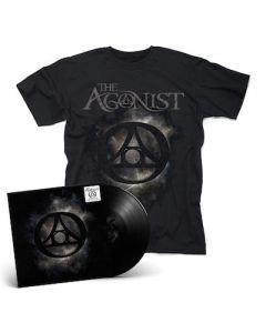 THE AGONIST – Orphans / BLACK LP Gatefold + T- Shirt Bundle