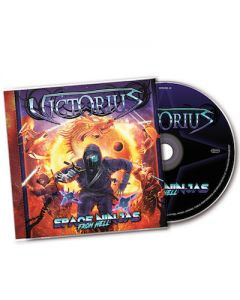 VICTORIUS - Space Ninjas From Hell / CD + T-Shirt Bundle