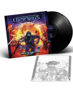 VICTORIUS - Space Ninjas From Hell / BLACK 2LP + T-Shirt Bundle