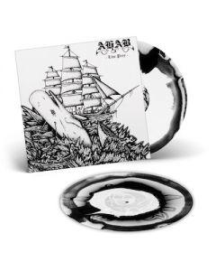 AHAB - Live Prey / WHITE + BLACK SWIRL 2LP w/ Etching