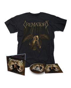 CREMATORY - Unbroken / Digipak CD + T-Shirt Bundle