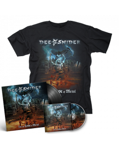 DEE SNIDER-For The Love Of Metal/T-Shirt Bundle