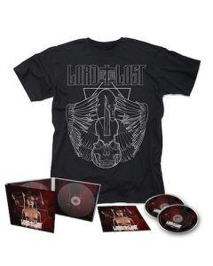 LORD OF THE LOST - Swan Songs III / 2CD Digipak + T-Shirt Bundle