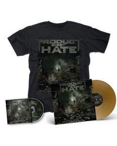PRODUCT OF HATE-Buried In Violence/CD + T-Shirt + Vinyl Mega Bundle