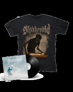 SKALMOLD- Sorgir/Limited Edition BLACK Vinyl Gatefold 2LP + Mara T-Shirt Bundle