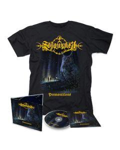 SOJOURNER - Premonitions / Digipak CD + T-Shirt Bundle