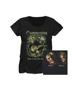 SUMMONING-With Doom We Come/GIRLS T-Shirt
