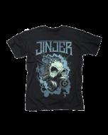JINJER-Gasmask Skull/T-Shirt