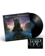 VISIONS OF ATLANTIS-The Deep & The Dark/Limited Edition BLACK Vinyl Gatefold LP with Autographed Card